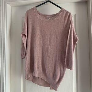 Aritzia Silk & Cotton Blend Sweater (xs)